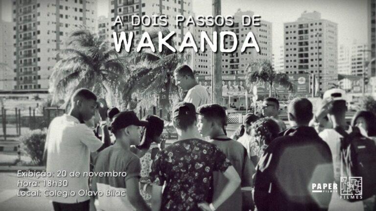 """""""A Dois Passos de Wakanda"""": Uma proposta para Consciência Negra no Ensino de História"""